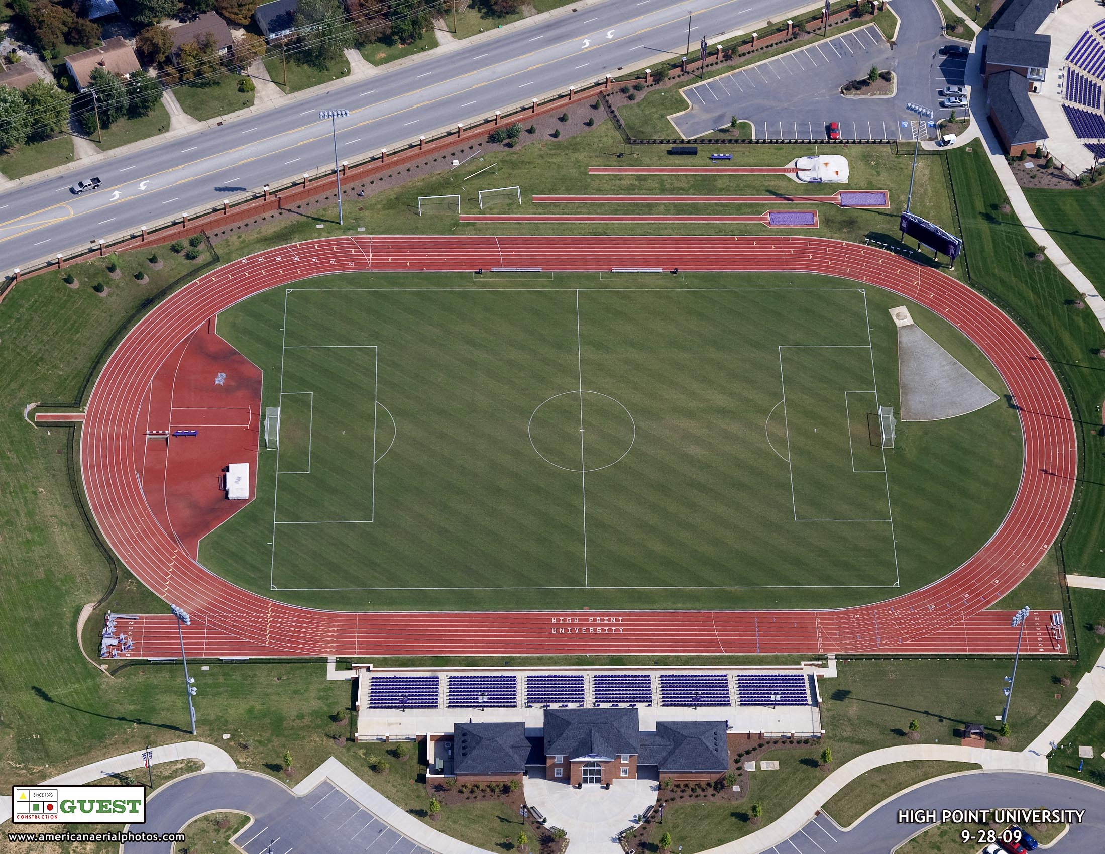 High Point University Track Amp Field Facility Romeo Guest
