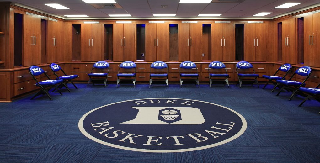 Duke University Men S And Women S Basketball Locker Rooms